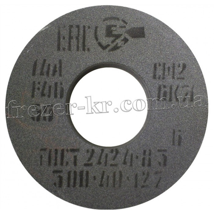 Круг шлифовальный 14А ПП 350х40х127 (F46-F80) - фото 1