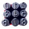 Клейма цифровые ударные 8 мм (YATO)