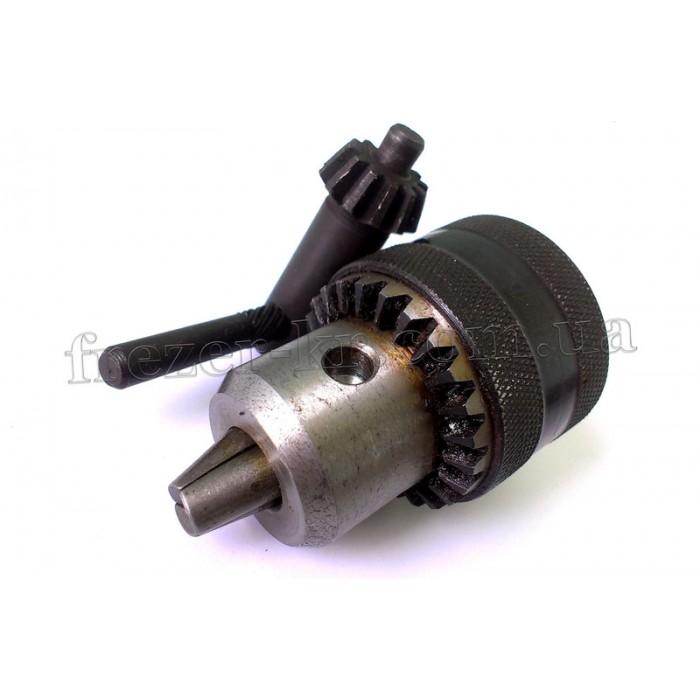 Патрон ПСР 16 (3,0-16,0 мм) М12х1,25 сверлильный резьбовой (Intertool) - фото 1