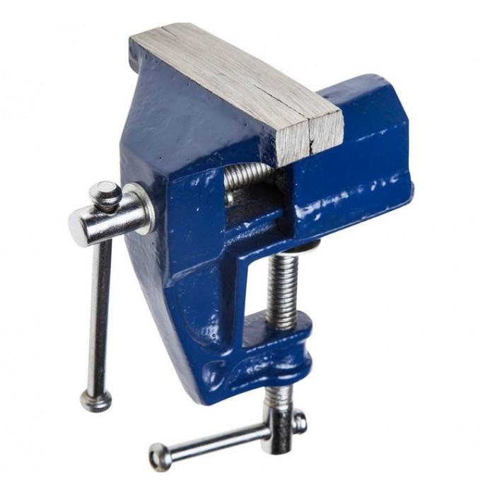 Тиски слесарные 40 мм настольные неповоротные (Vorel)