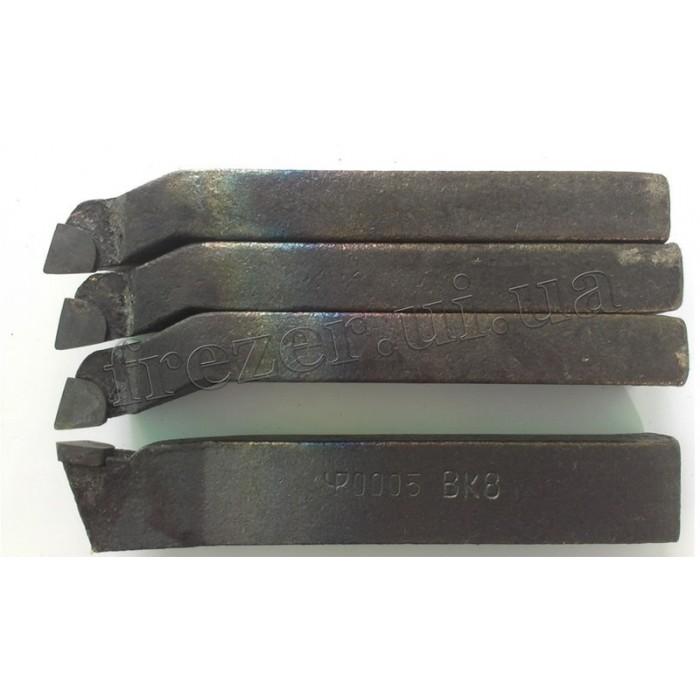 Резец подрезной отогнутый 16х12х100 ВК8 (ЧИЗ)