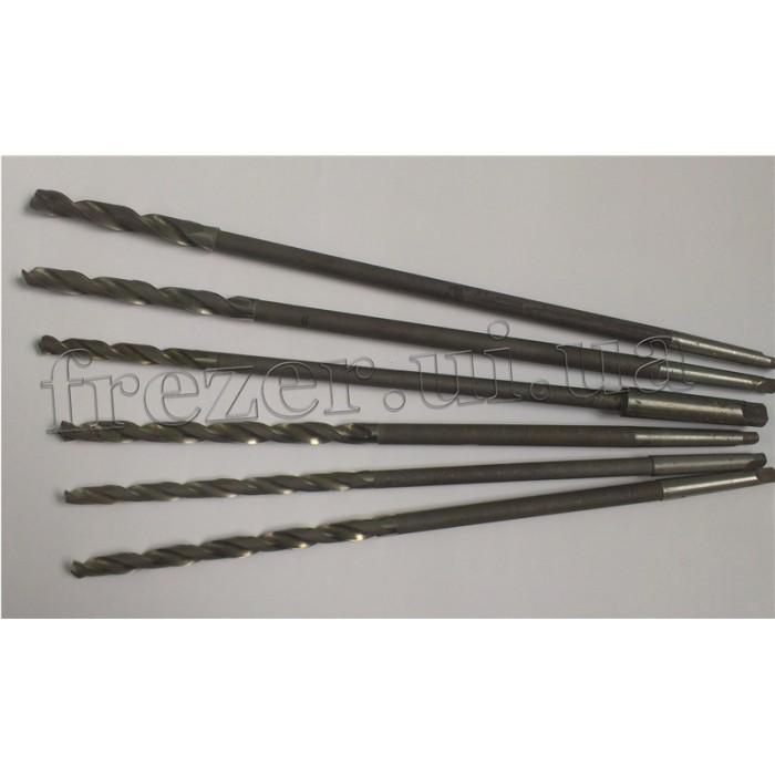 Сверло к/хв Ф 11,5 Р18 КМ2 удлиненное 420/105 цеховое спец