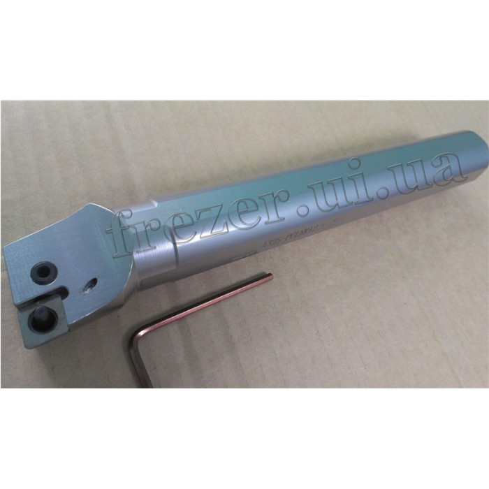 Резец расточной для г/о 32х250 A32S-PCLNR12 с механическим креплением ромб. пластины (ZCC-CT)