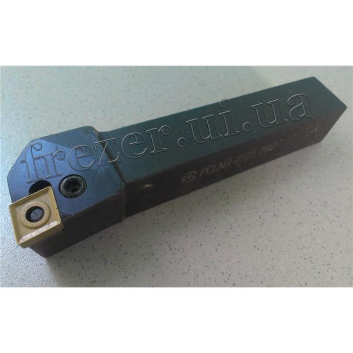 Резец проходной 25х25х150 с механическим креплением ромб. пластины PCLNR 2525 М12
