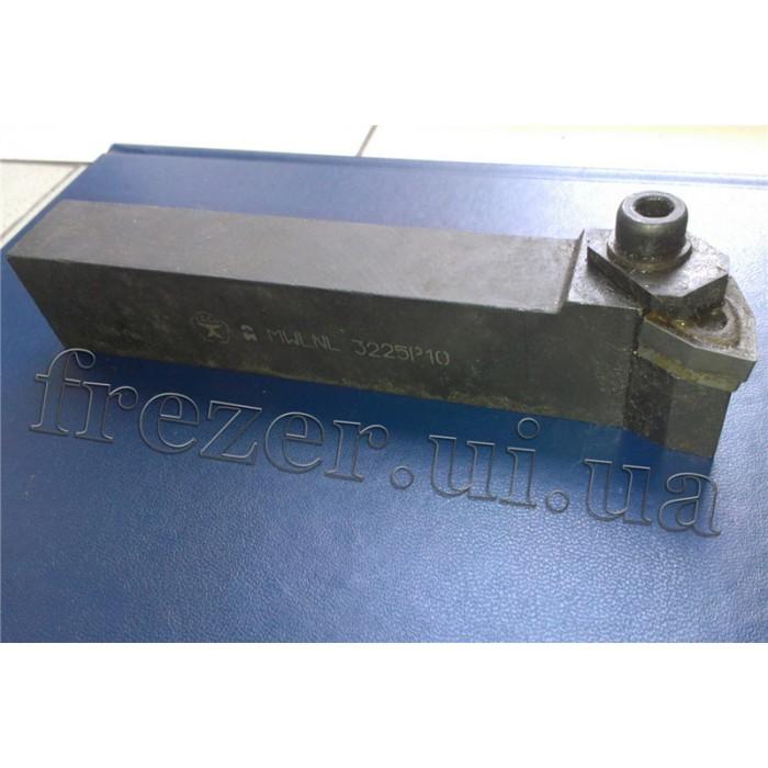 Резец подрезной проходной 32х25х170 с механическим креплением 6-гранной пластины MWLNL 3225 P10 левый