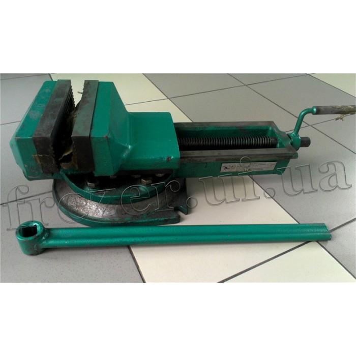 Тиски станочные поворотные 200 мм 7200-3218 (Металлист, Глазов)