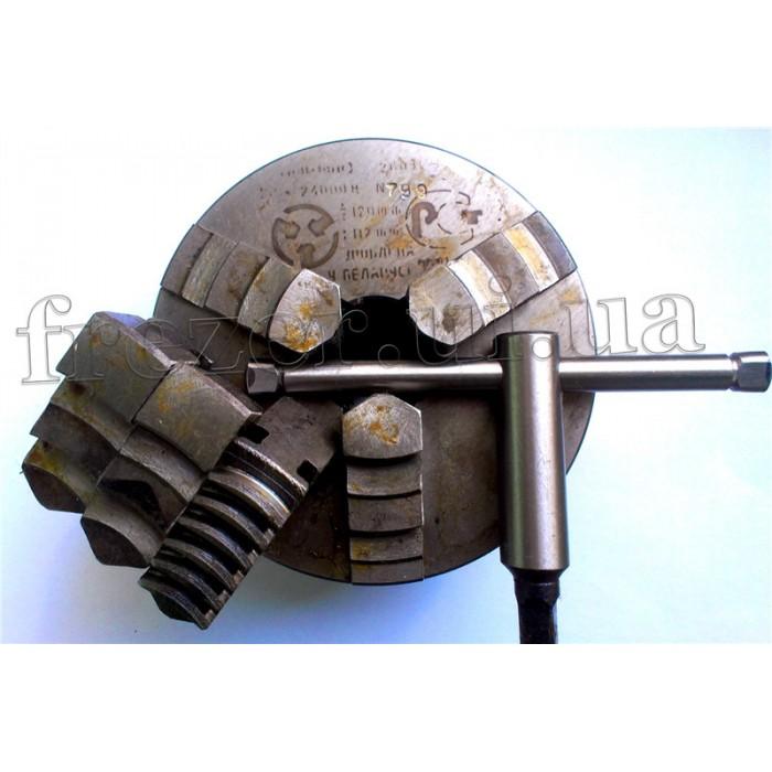 Патрон токарный 3-х кулачковый Ф 125 мм 7100-0003 (БелТАПАЗ)