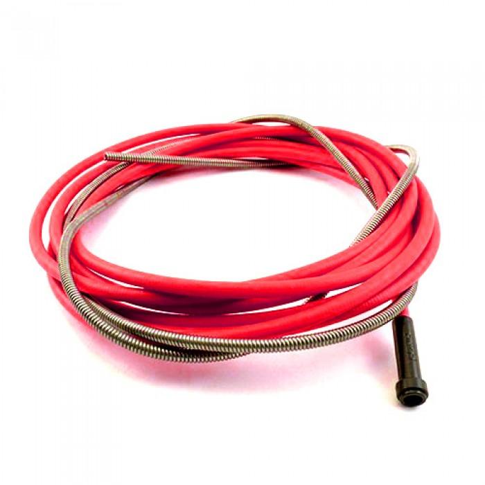 Спираль подающая красная под проволоку 1,0-1,2 мм 5 м (Abicor Binzel)