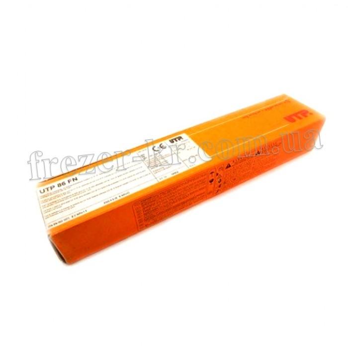 Электроды для сварки чугуна UTP 86 FN Ф 3,2 мм (5,6 кг)