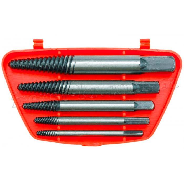 Набор экстракторов 3,2 - 19 мм (5 шт.) VOREL
