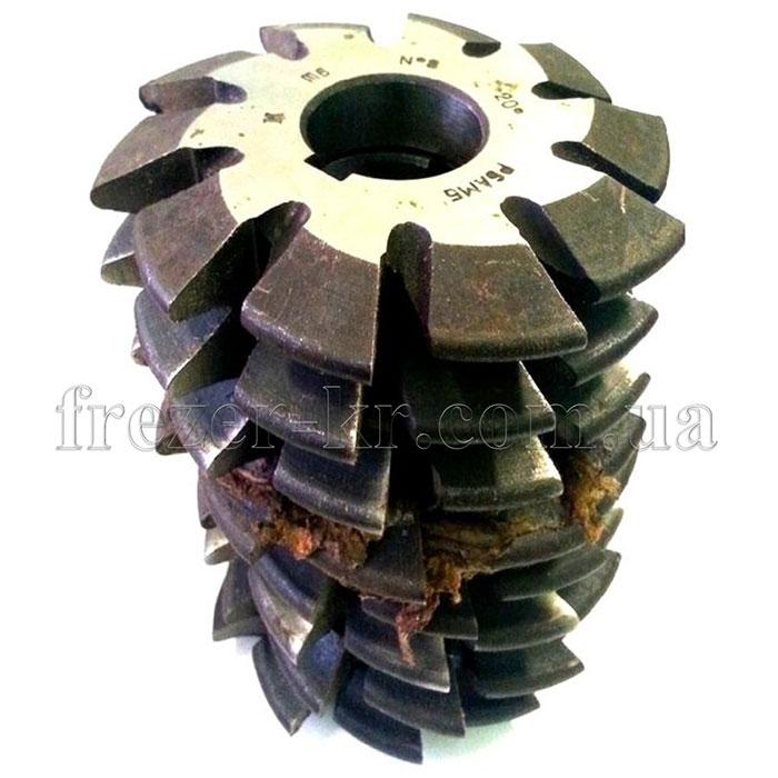 Фреза дисковая модульная М 0,5 комплект 20° Р18 (Фрезер)