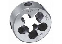 Плашка дюймовая UNC 3/8''-16 нитей 9ХС (Техносталь)