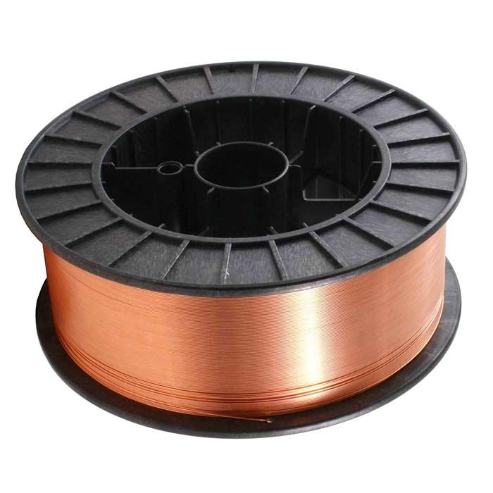 Проволока сварочная омедненная Ф 0,8 мм (2,5 кг) ER70S-6 Gradient