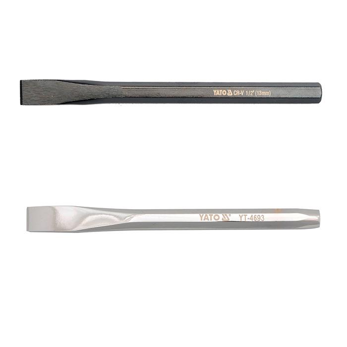 Зубило слесарное 142х10 мм (YATO)